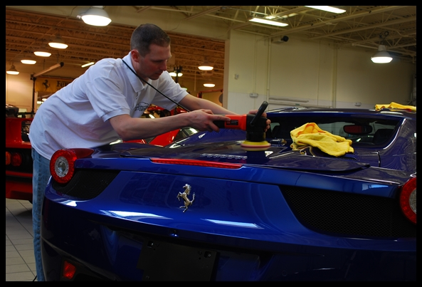 Exotic car detailing Boston