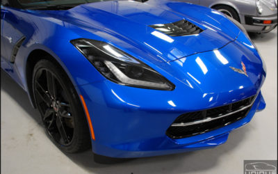 Opti-coat Pro & Xpel Clear Bra Installation – C7 Corvette – Boston