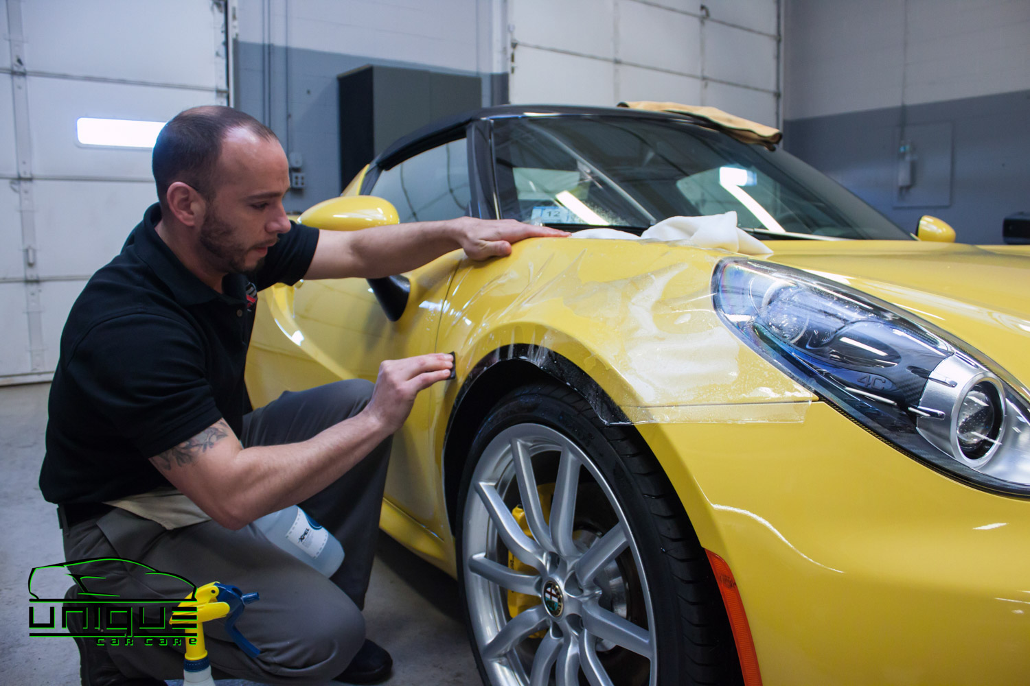 professional clear paint protection film installer in the boston area