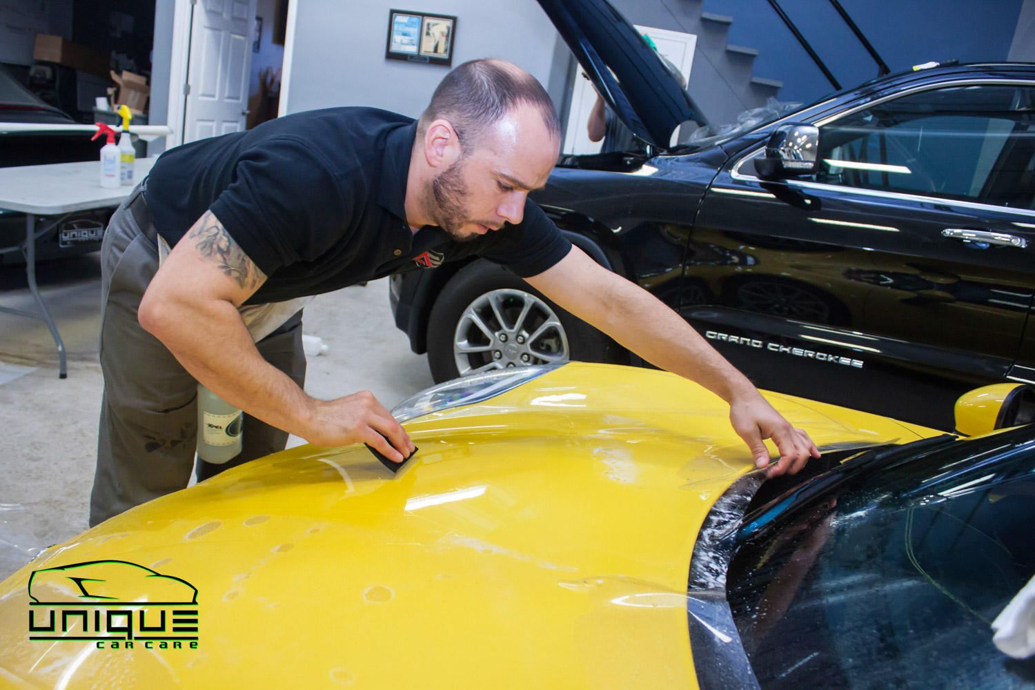 Automotive stone chip protection film Boston