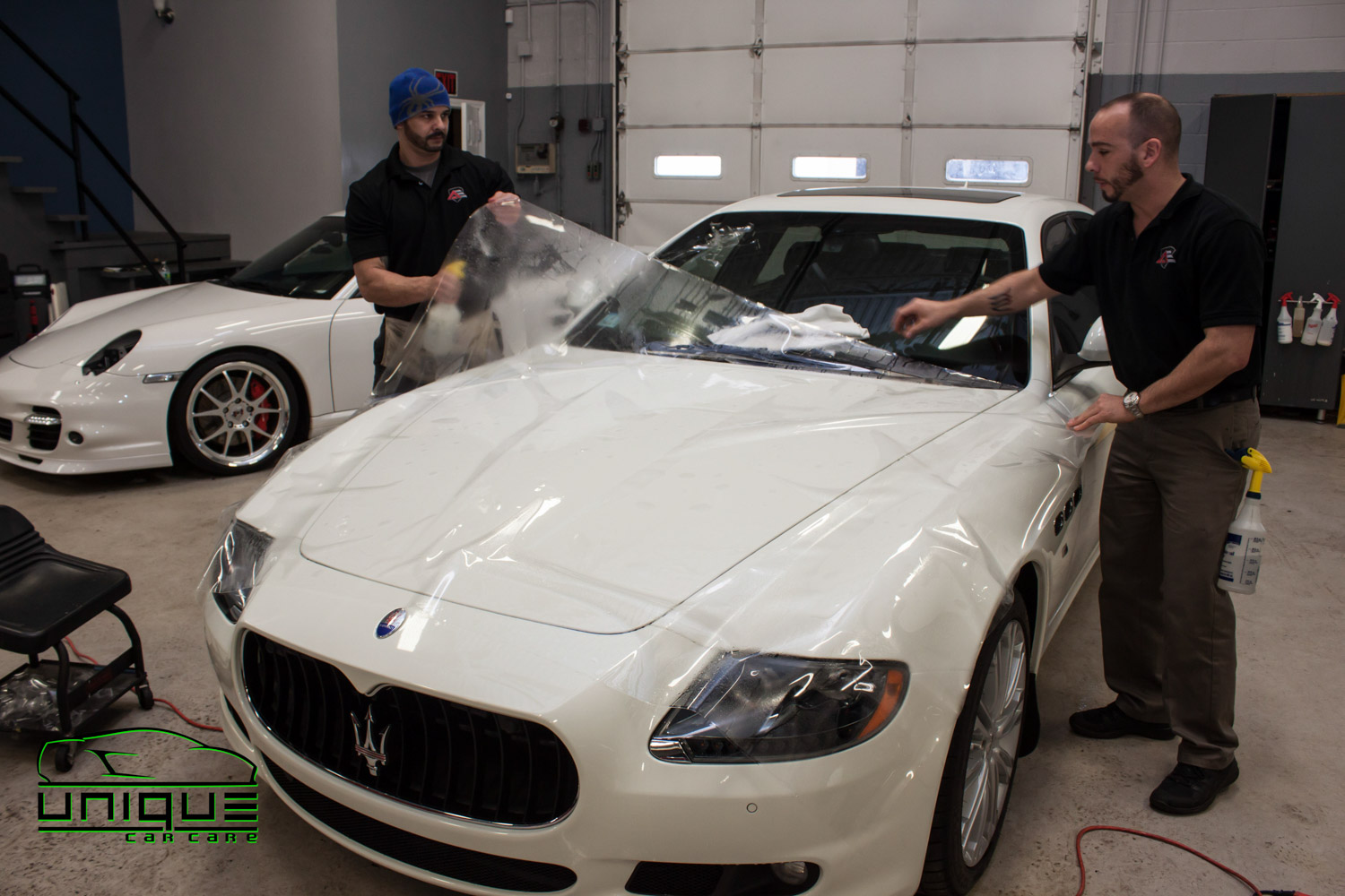Paint protection film installation in Boston MA