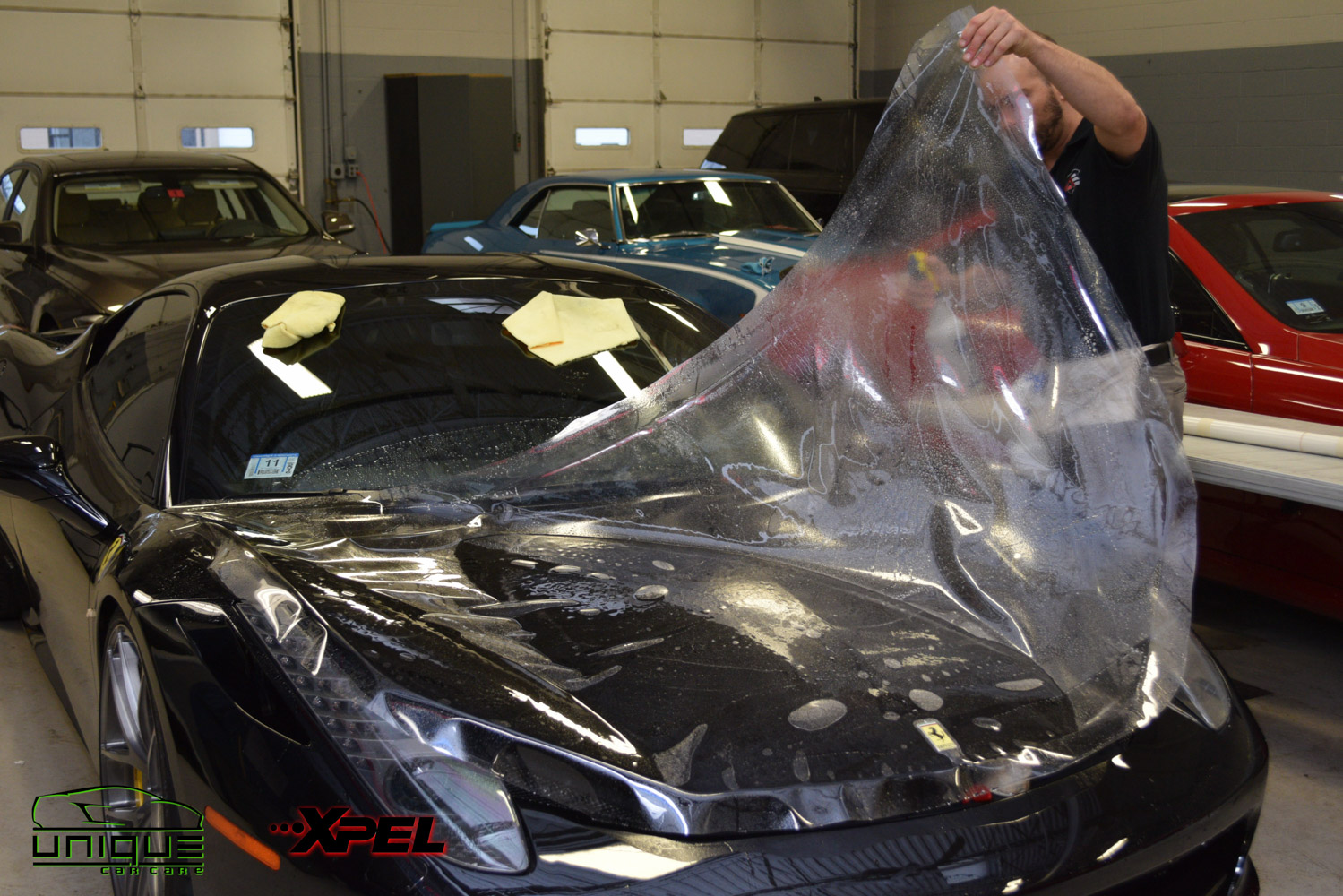 Automotive paint protection film and car bra installation in Boston MA