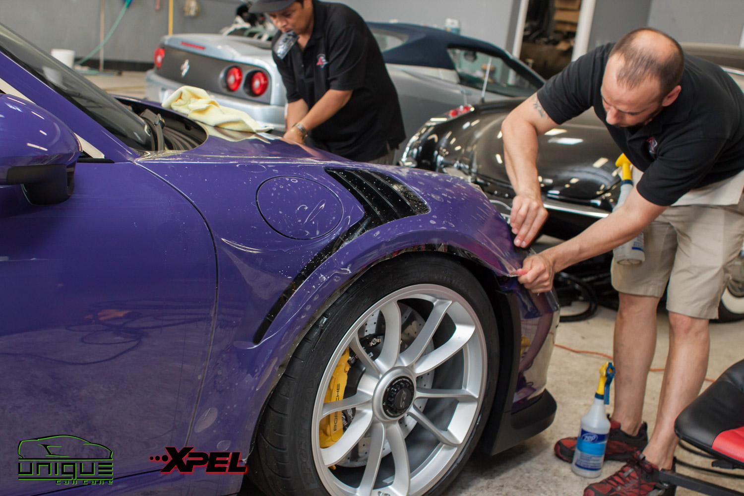 Xpel Ultimate Self healing paint protection film installer in Boston MA
