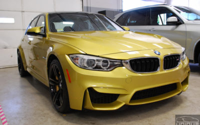 Clear Bra Boston – BMW M3 Xpel Ultimate Installation and New Car Prep – Unique Car Care