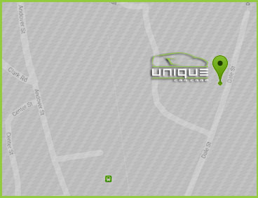 Directions to Unique Car Care in Andover, MA