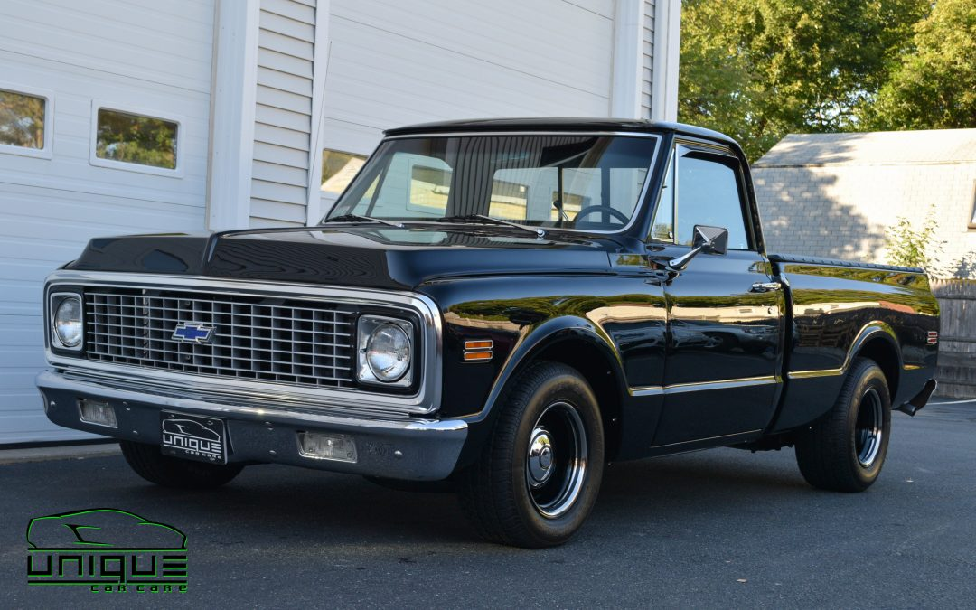 1972 Chevy C10 Three-Step Paint Correction – Detail – Unique Car Care – Boston MA