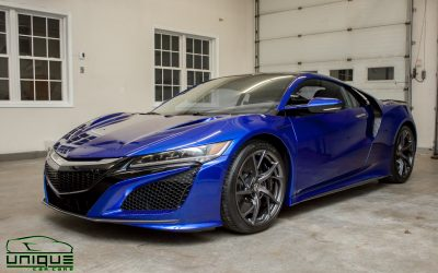 2017 Acura NSX – Full Vehicle Xpel Clear Bra Wrap & Ceramic Coating – Boston, MA